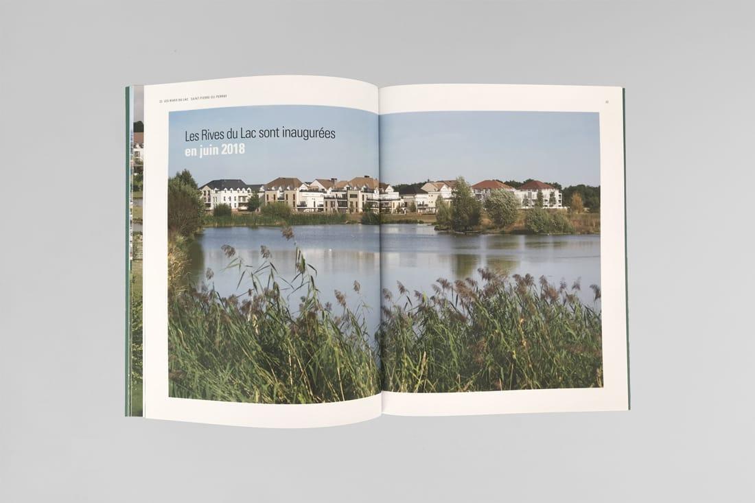 double page intérieure collection kaufman et broad