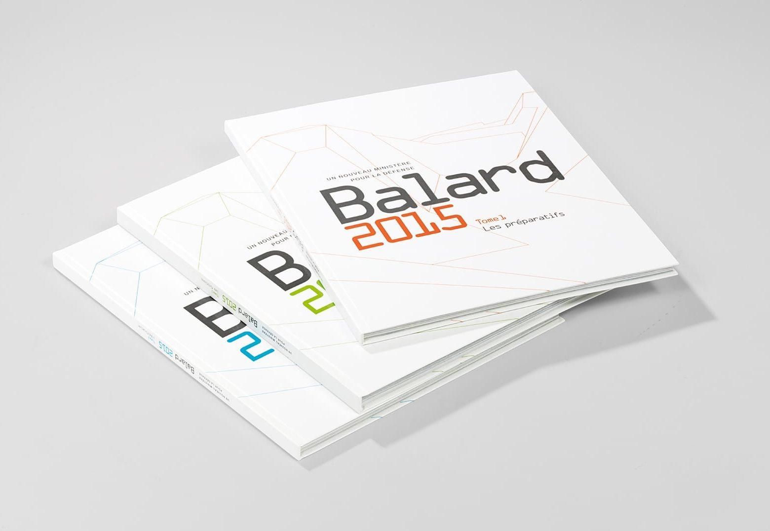 Livre BALARD 3 tomes