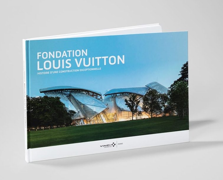 Livre Fondation Louis Vuitton pour vinci construction france