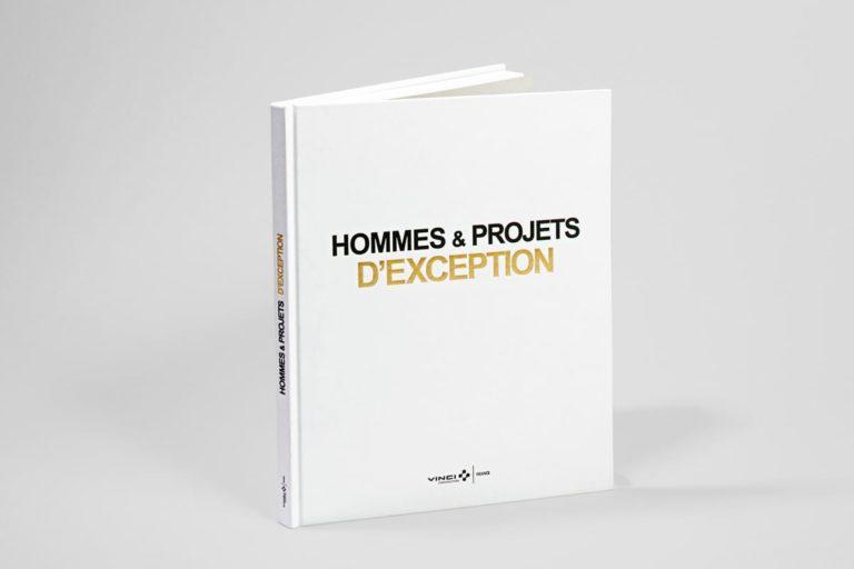 livre Hommes & projets d'exception