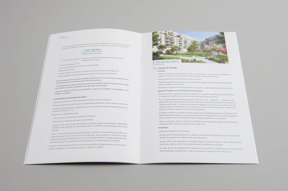 page interieure d'un guide acquereur du parcours client