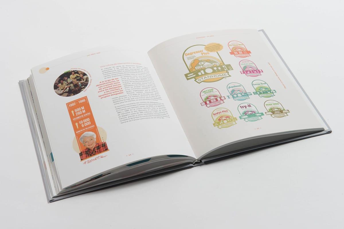 livre 90 ans Stanhome double intérieure