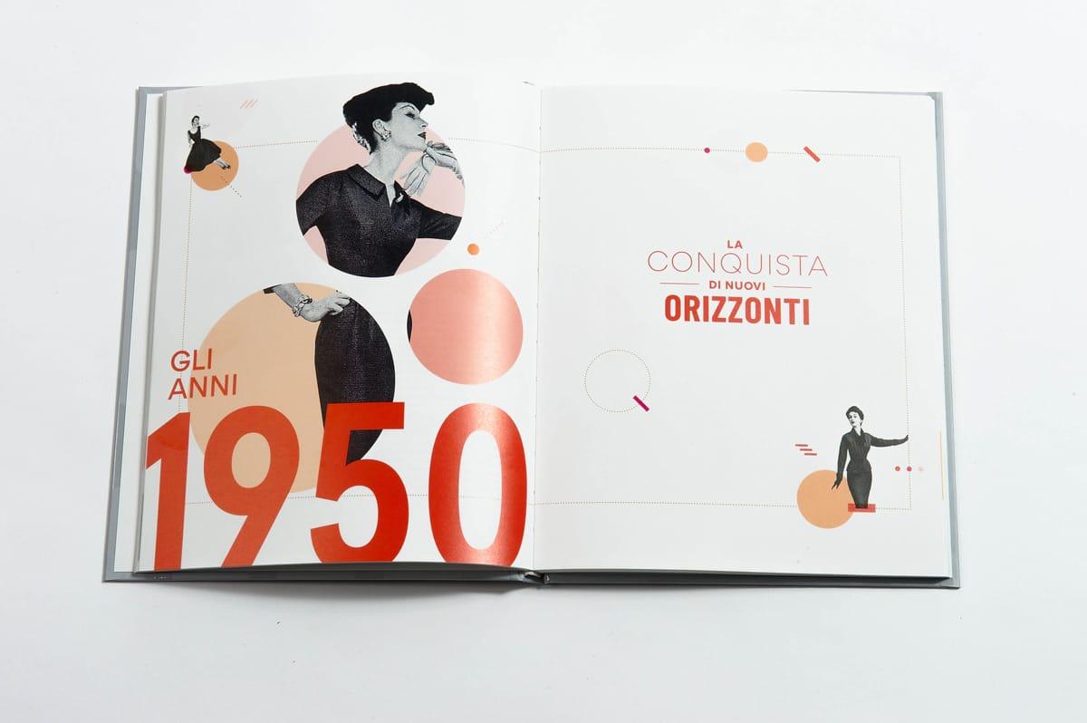 livre 90 ans Stanhome ouverture 1950 italien