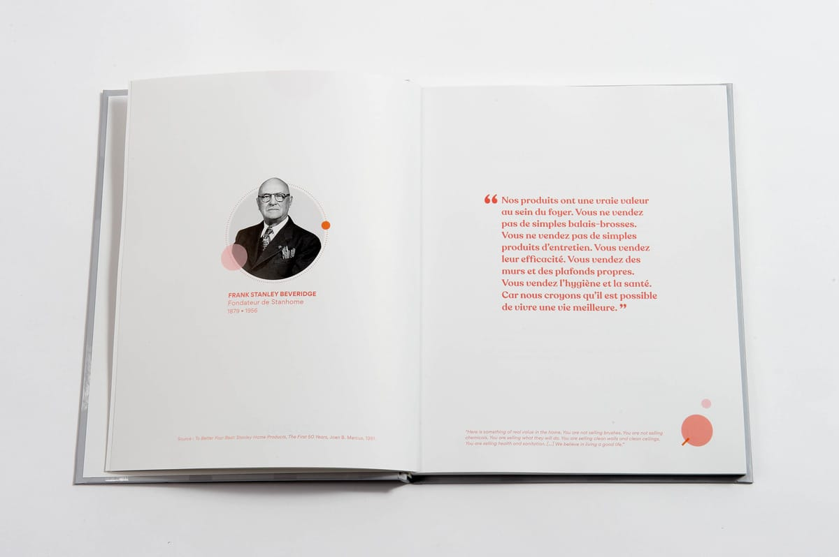 livre 90 ans Stanhome conclusion