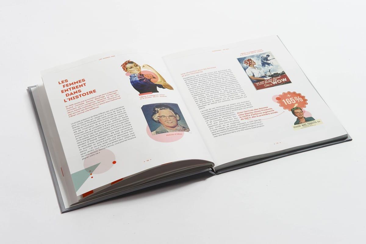 livre 90 ans Stanhome double texte