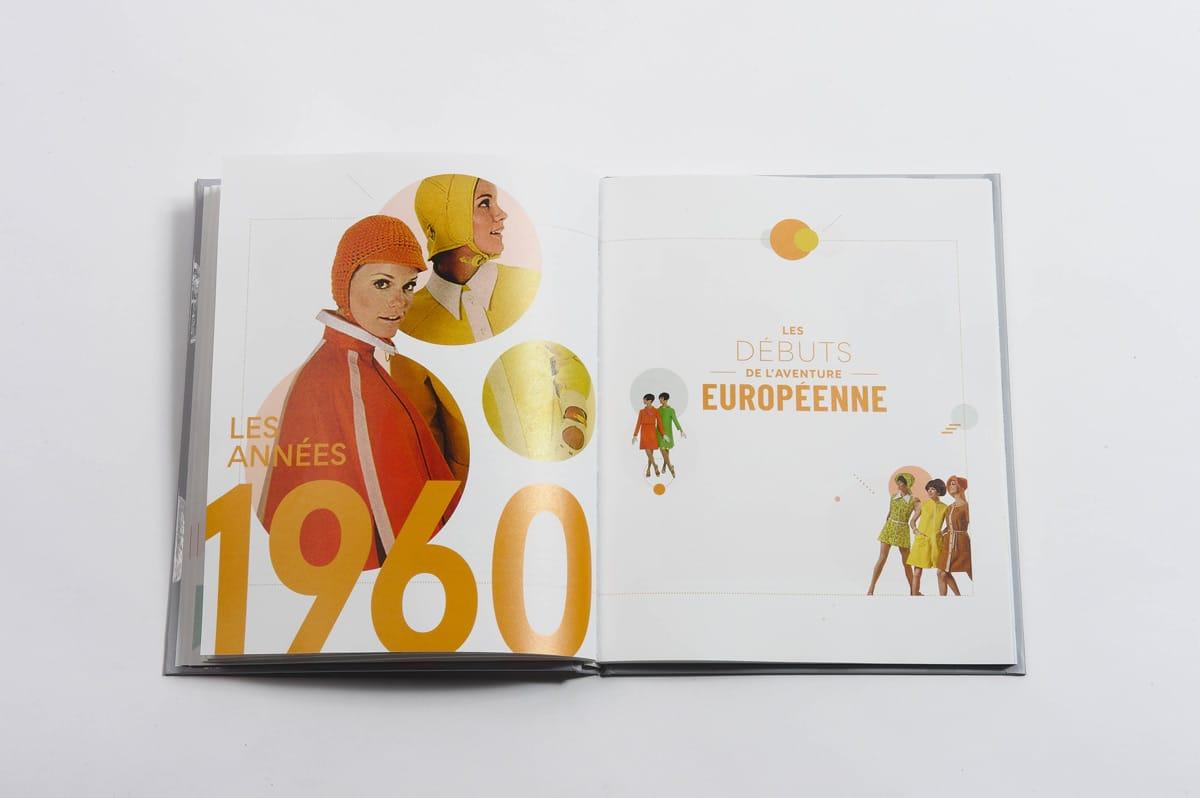 livre 90 ans Stanhome ouverture de chapitre 1960