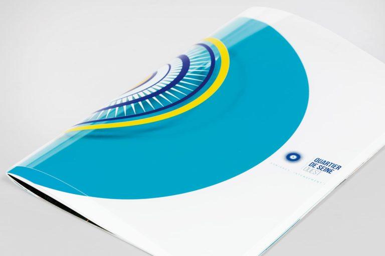 QSO plaquette couverture rhodoid imprimé