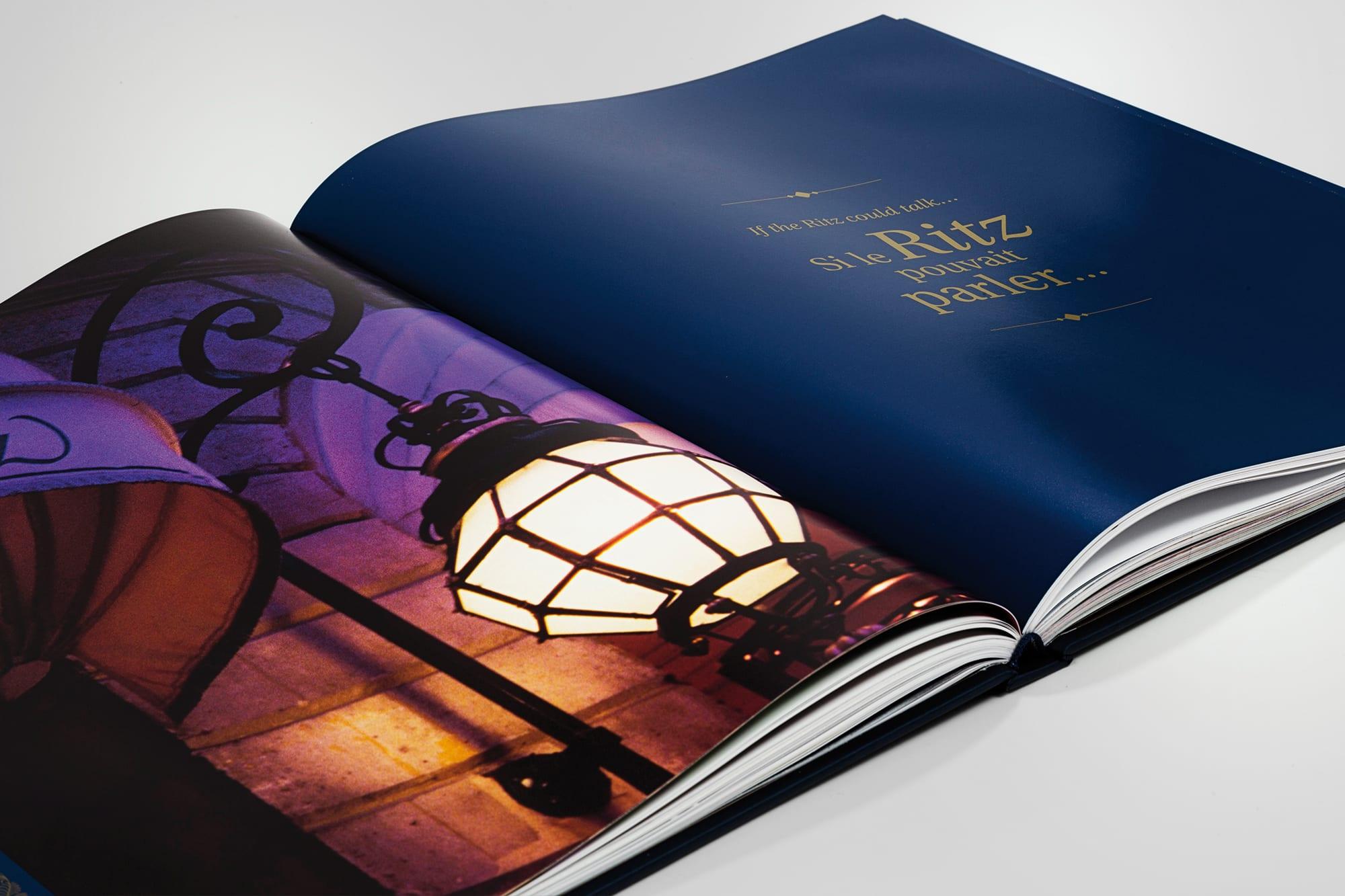 Livre So ritzy double page intérieure photos devanture nuit
