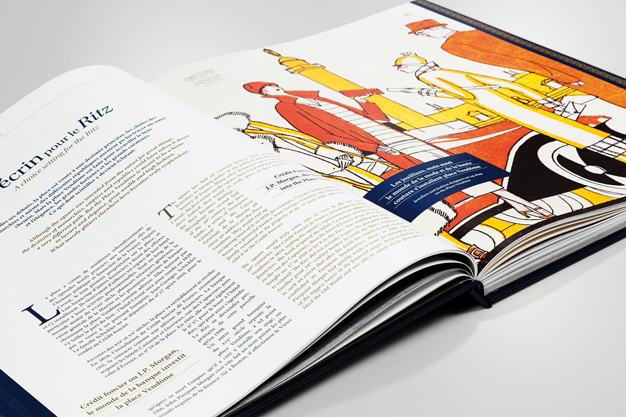 livre So ritzy double page intérieure