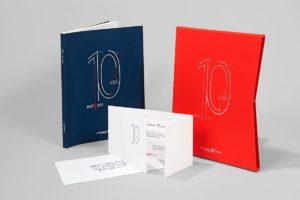 10 ans de vinci livre coffret invitation