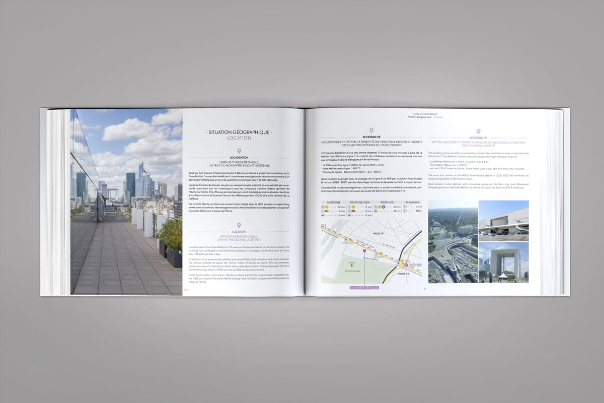 Book de commercialisation High Five situation geographique