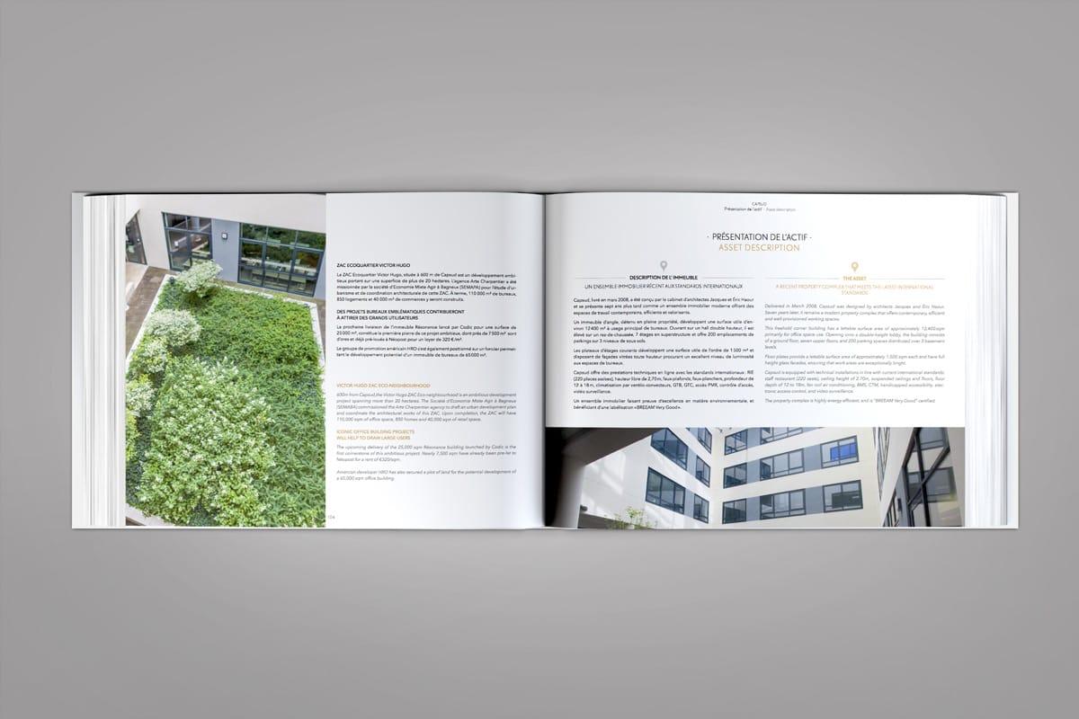 Book de commercialisation High Five présentation d'un actif