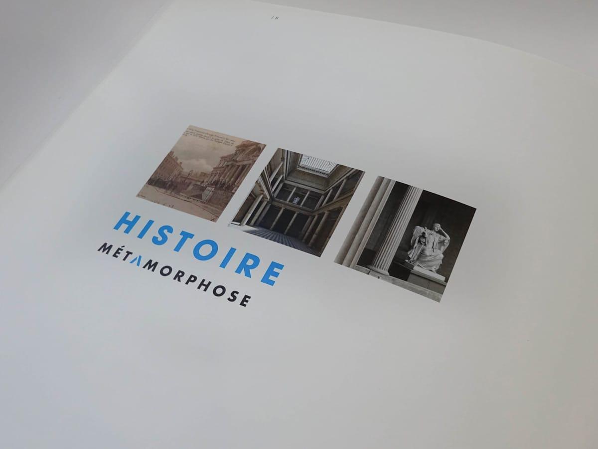 Livre METAMORPHOSE palais de justice de Nantes