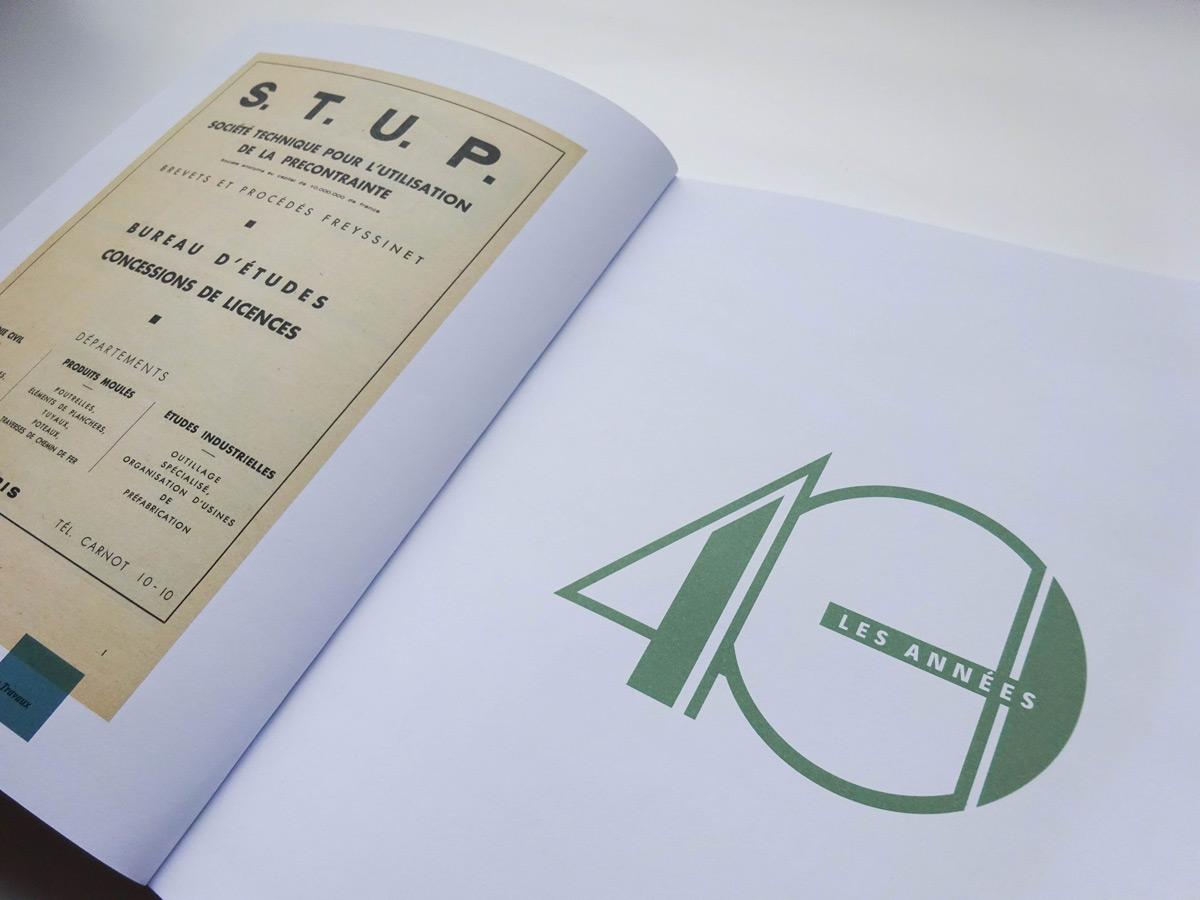 livre 75 ans freyssinet ouverture année 40